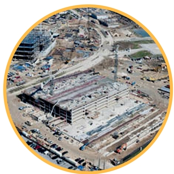 construction aerial photography in fort worth tx