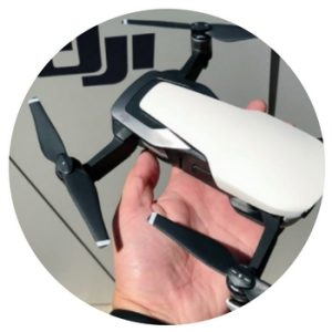 dji mavic air specs size