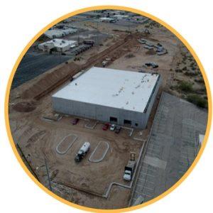 aerial construction photography el paso