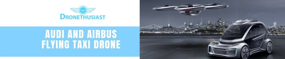 audi and airbus flying taxi drone