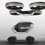 audi and airbus taxi drone