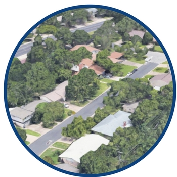 real estate aerial photography austin texas