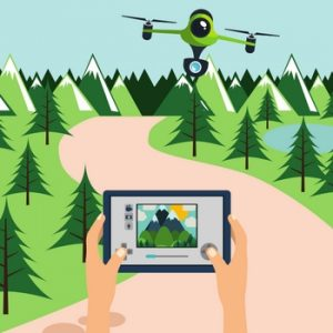 what makes a good travel drone - fixed camera