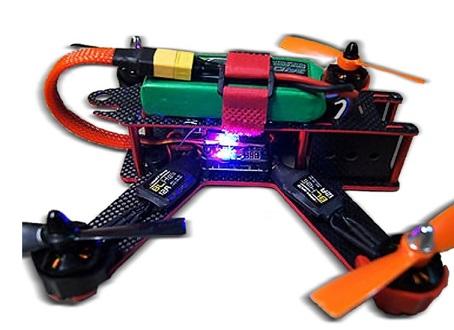 Targethobby Carbon Fiver QAV210 FPV 4 Axis best drone kits