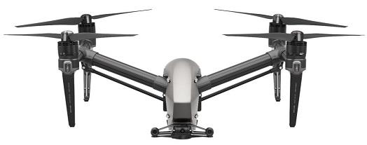mejor cámara drone dji inspire 2