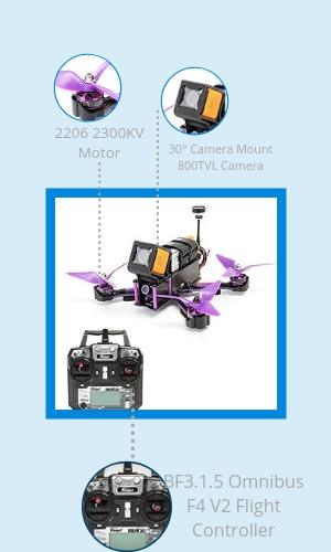 best drones under 200 eachine wizard x220s fpv racing drone specs