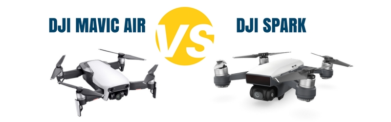 mavic air vs dji spark