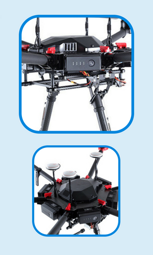 gas powered drones DJI Matrice 600 Pro specs