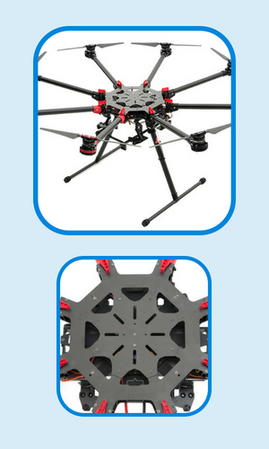 DJI S1000+ gas powered drones specs