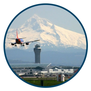 Proximity to Airports in Oregon