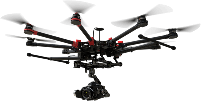DJI gas powered drone