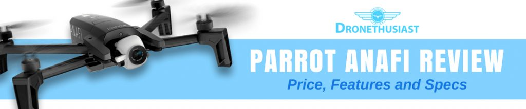 parrot anafi review price and specs