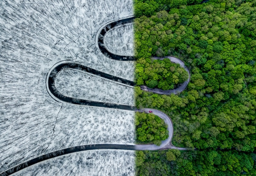2018 drone photography awards best abstract photo
