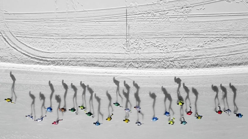 2018 drone photography awards skating shadows