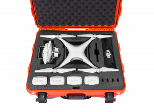 Nanuk DJI Waterproof Drone Cases feature