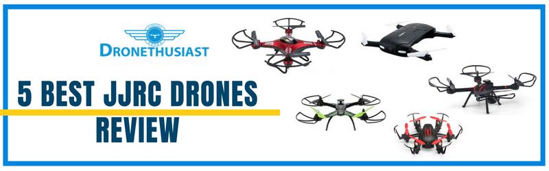en-tête de la revue des meilleurs drones jjrc