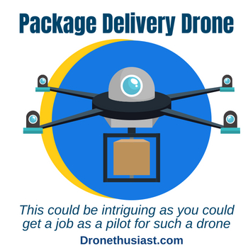 drone pilot job package delivery