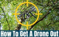 How To Get A Drone Out Of A Tree – (Drone Retrieval Tips 2019)