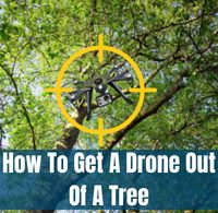 how to get a drone out of a tree fi
