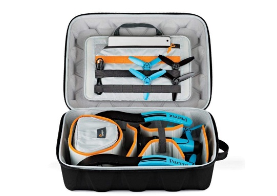parrot drone accessories bag droneguard cs300 lowepro