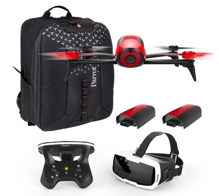 parrot drone accessories parrot bebop 2 fpv fly pack