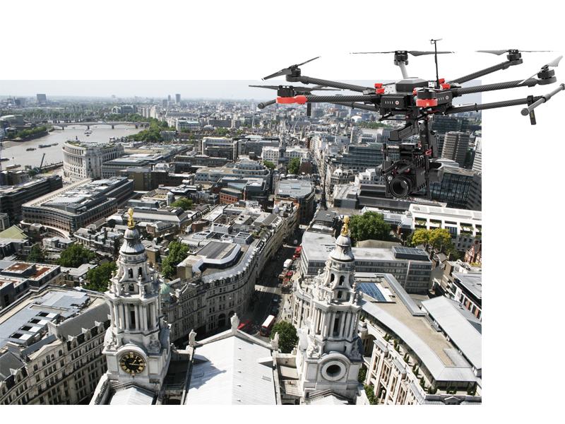 UK london drone ports