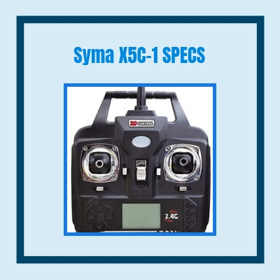syma x5c-1 specifications