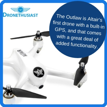 altair aerial outlaw drone gps