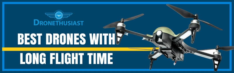 best drones with long flight time