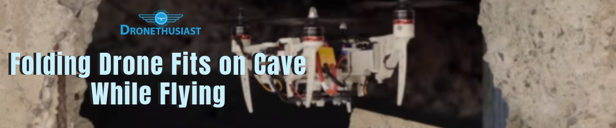 drone folds cave in zurich