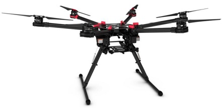 best heavy lifting drone dji spreading wing