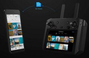 dji smart controller 5 share media