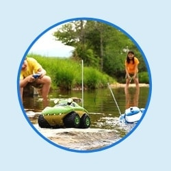 Amphibious RC Car for kids and toddlers