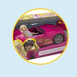 Barbie Remote Control Car