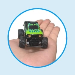 Micro RC Car Baja Racer