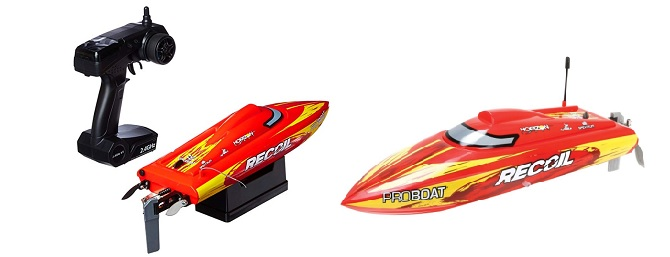 best rc boats for kids - proboat recoil