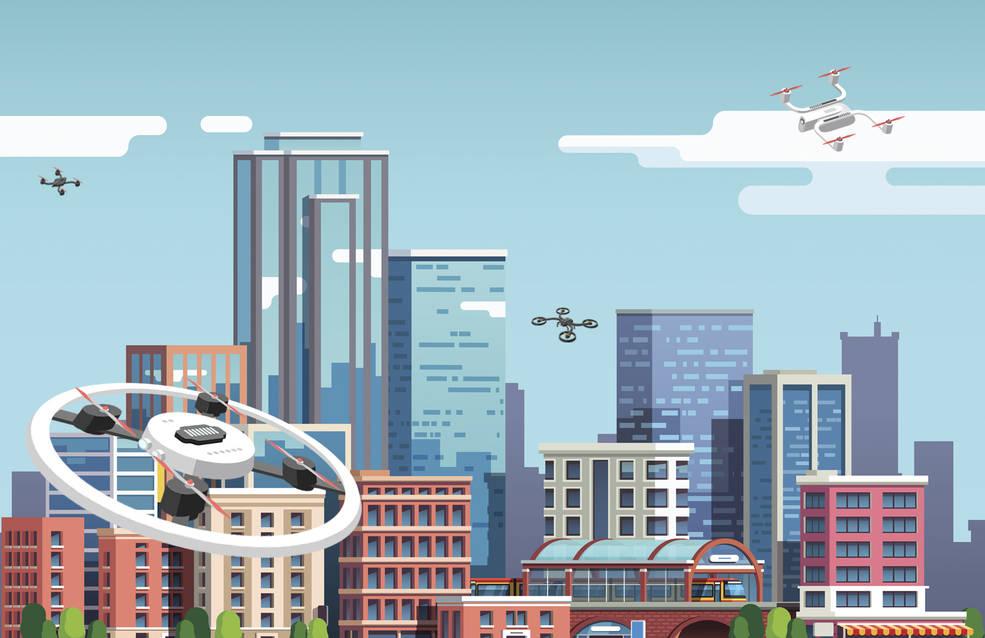 nasa drone traffic