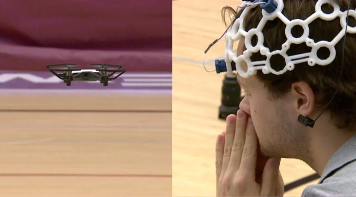 canadian students with brain waves fly drones
