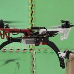 drone with tiny claws perches like bird