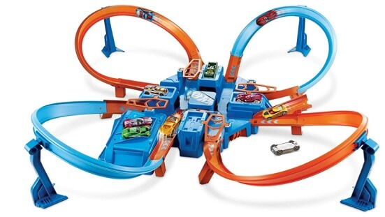 Hot Wheels Criss Cross Crash Track Set dronethusiast 1