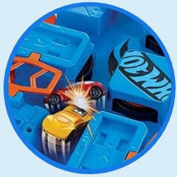 Hot Wheels Criss Cross Crash Track Set specs 1