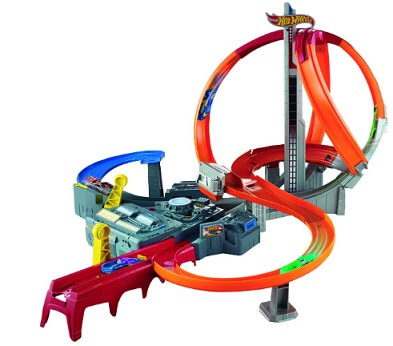 Hot Wheels Spin Storm Track Set dronethusiast 1