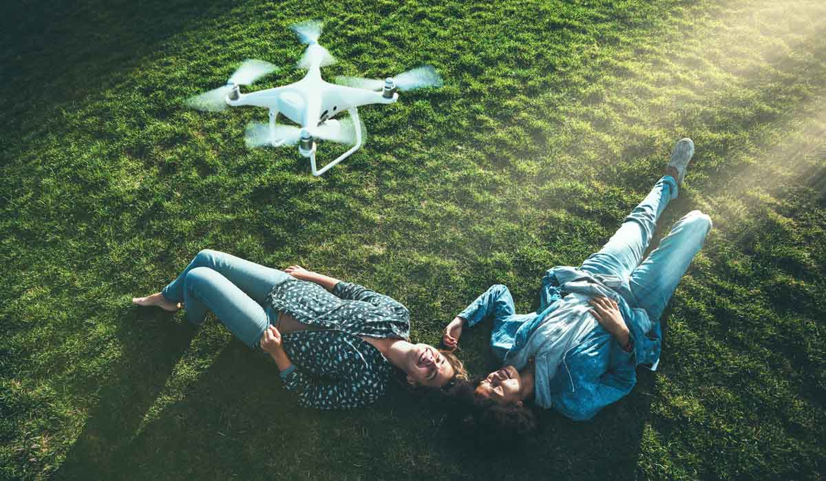 Intelligent Functions Does the Photography Drone