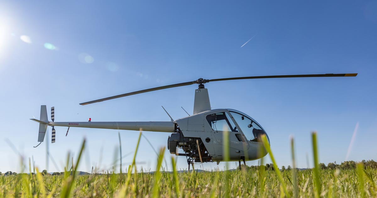 Single-Rotor Helicopter Drones
