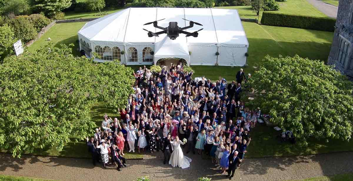 Will You Need Permission to Use a Drone at the Wedding Venue