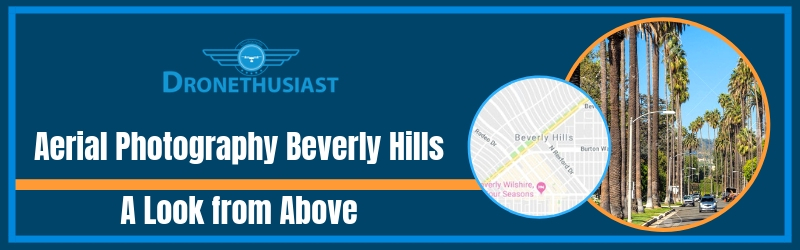 aerial photography beverly hills california