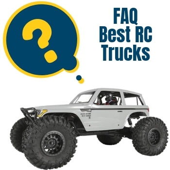 best rc trucks faq 1