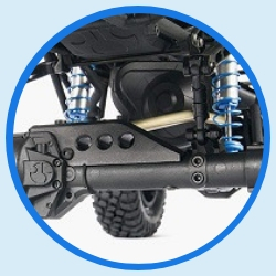 rc trucks kits to build axial rr10 bomber specs