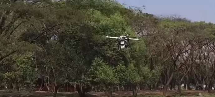 Tree-Planting Drones Save The Planet With Missiles - Drone