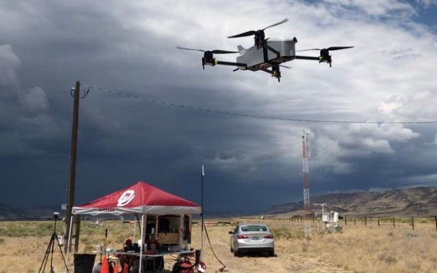 university of oklahoma weather forecasting drones